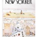 The New Yorker Cover View of the World